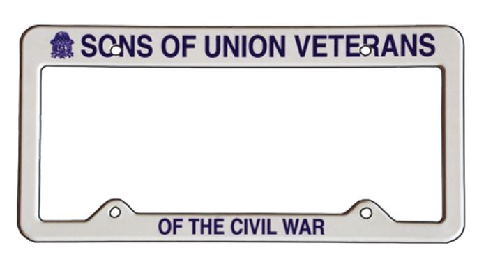 SUVCW License Plate Frame