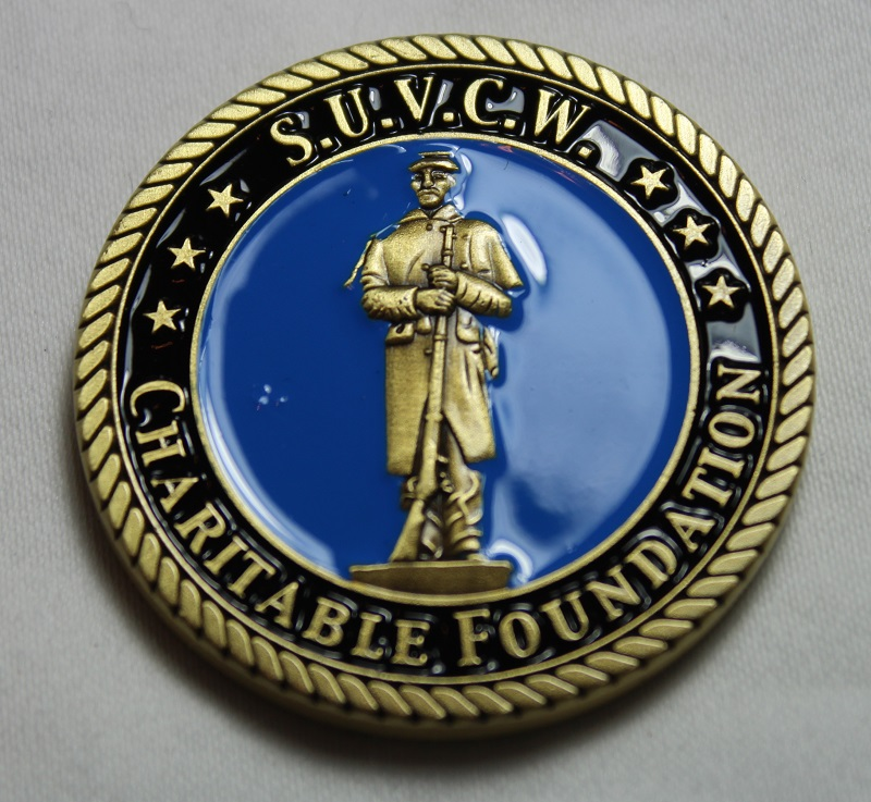 Charitable Foundation Challenge Coin (Front)