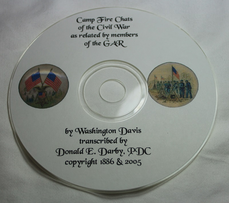 Camp Fire Chats by Washington David on CD