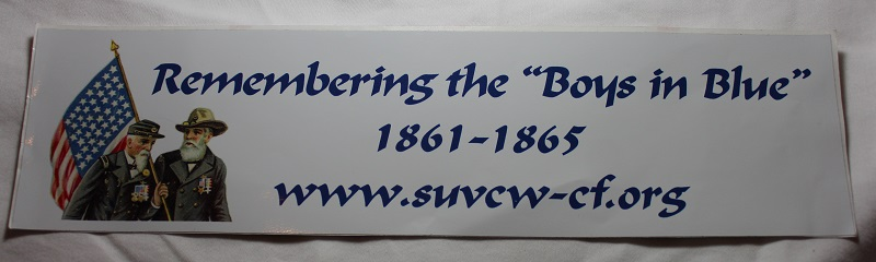 """Remembering the Boys in Blue"" Bumper Sticker"