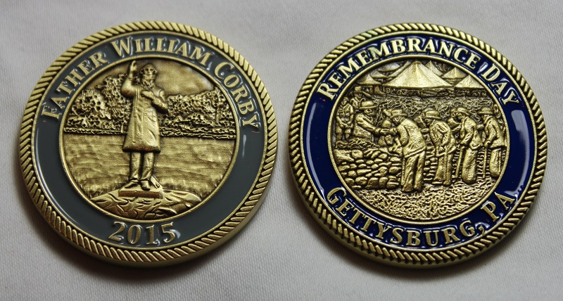 2015 Remembrance Day Challenge Coin