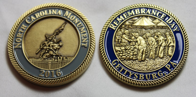 2016 Remembrance Day Challenge Coin