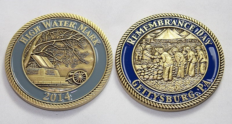 2014 Remembrance Day Challenge Coin
