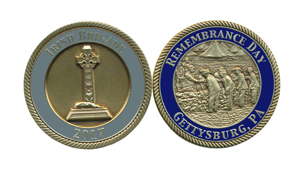 2017 Remembrance Day Challenge Coin