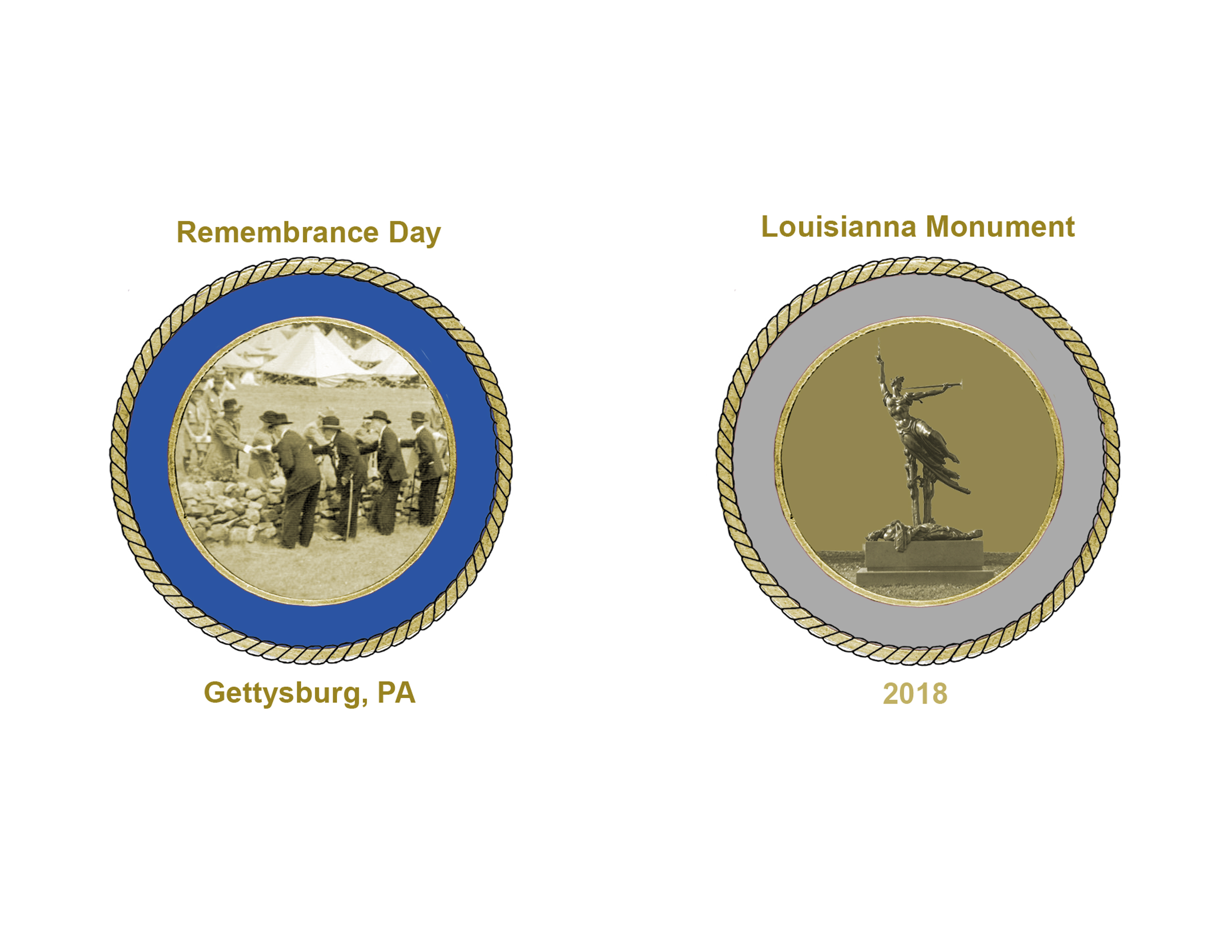 2018 Remembrance Day Challenge Coin